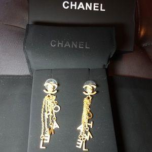 Chanel tassels earrings